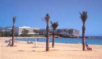 Javea Arenal Beach, click for Javea Tourist Information